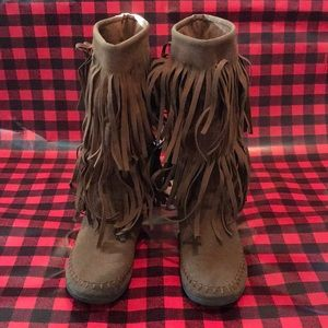 Rampage Moccasin Boots